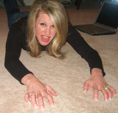 Kristin blogging kicking and screaming!